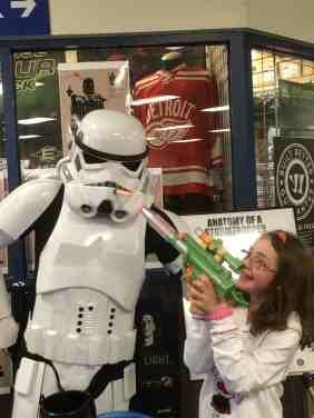 Star Wars Hockey Game