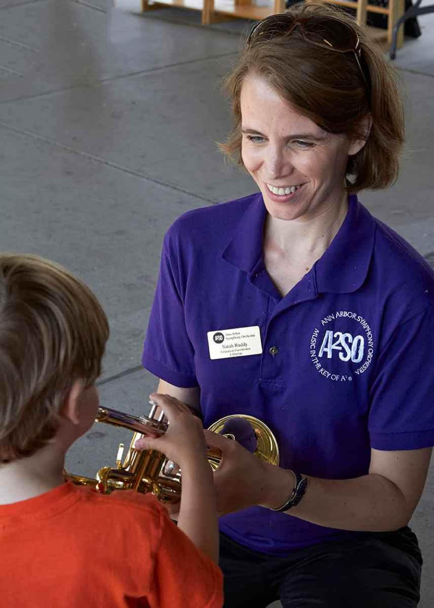 Taste of Music Instrument Petting Zoo with Ann Arbor Symphony Orchestra