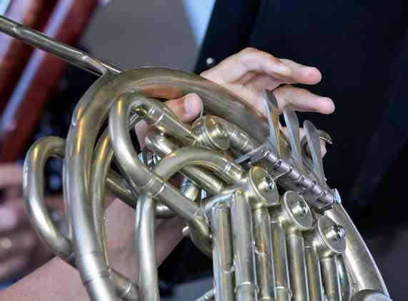 A2_MG_7096 closeup of french horn fingering
