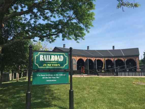 Greenfield Village Railroad Junction