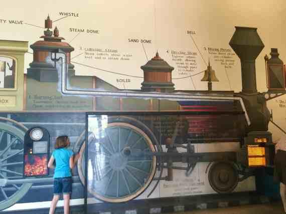 Greenfield Village Roundhouse - Steam Engine Display