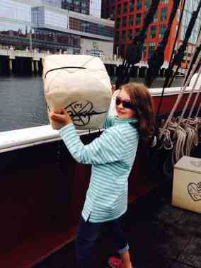 Boston Trip Report - Boston Tea Party Ship - Lifting Tea