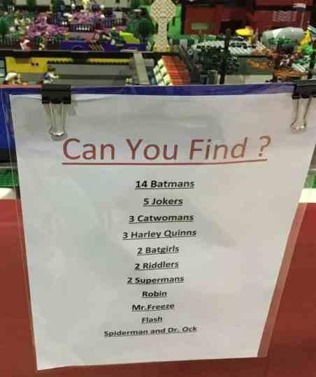 Brick Bash 2017 - Batman Search List