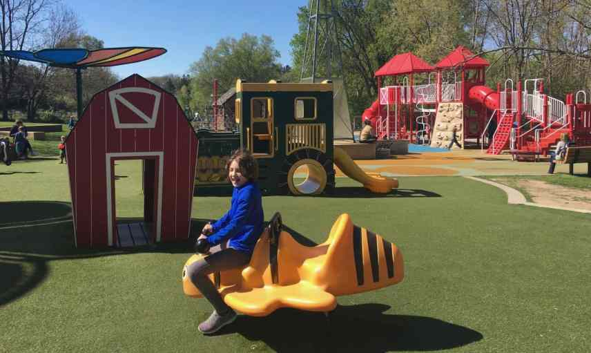 County Farm Park Playground Profile - Bouncer