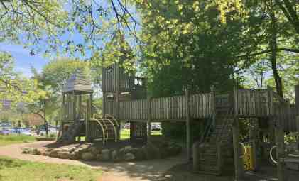 Fuller Park Playground Profile - Structure