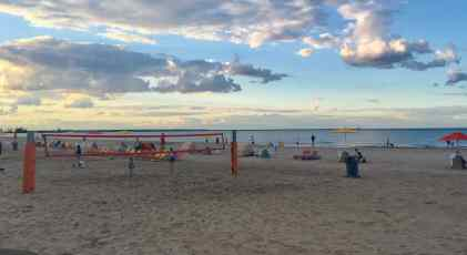 Cedar Point Wednesday Activity Review - Beach - Volleyball