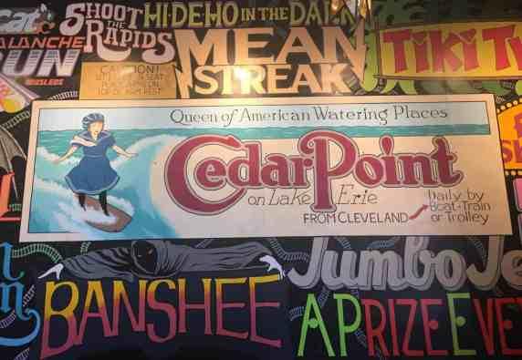Cedar Point - Wednesday Activity Review - The Melt Interior Entrance