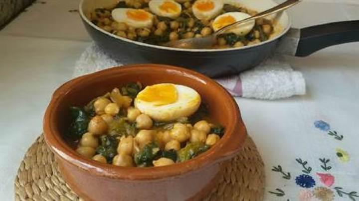 potaje de garbanzos con espinacas de Anna Recetas Fáciles