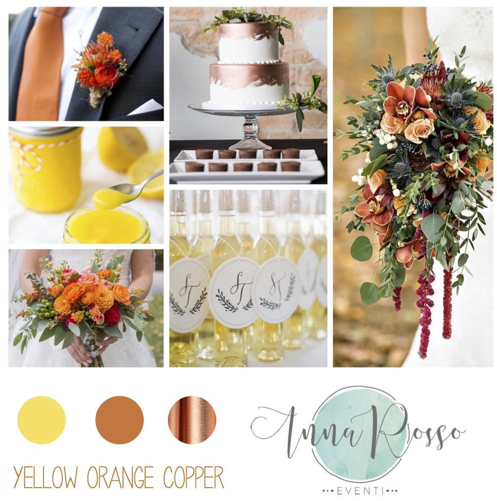 giallo arancio rame