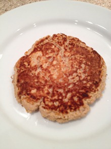 Coconut pancake