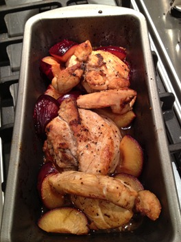 Chicken and plum1