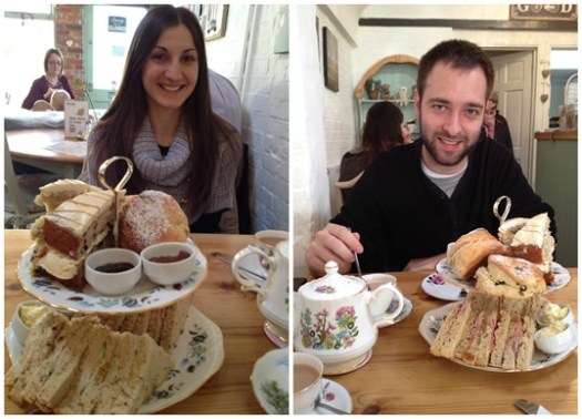 Elsie's Valentine's afternoon tea