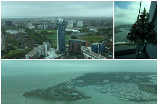 Spinnaker Tower views