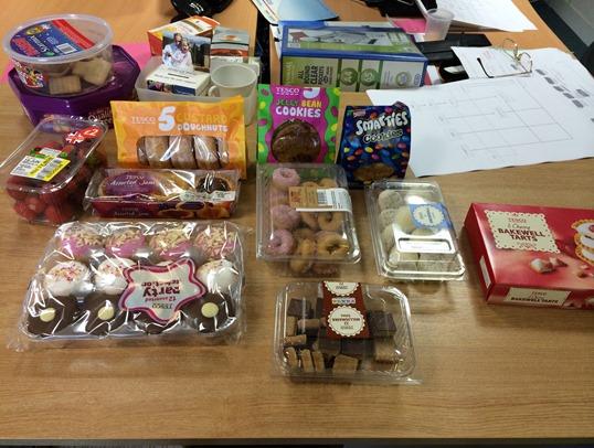 Office birthday cakes