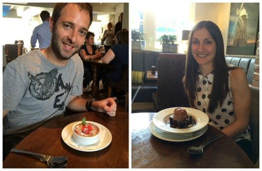 26th birthday meal