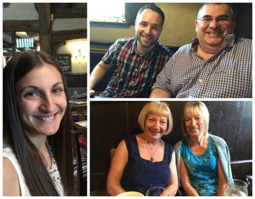Fox and Hound lunch with parents