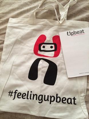 Upbeat bag
