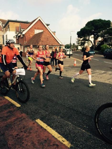 Bournemouth marathon 19