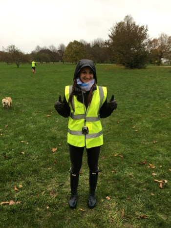 parkrun time keeper