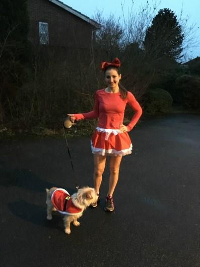 Christmas fancy dress run
