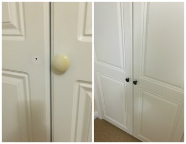 IKEA door knobs