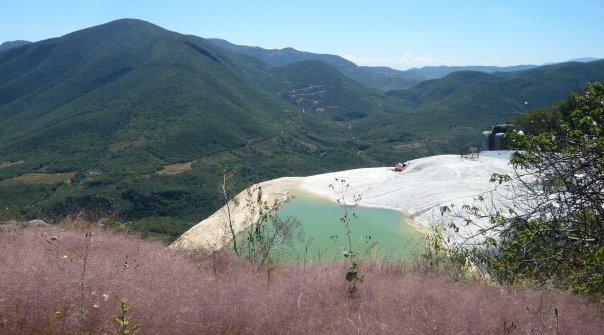Hierve el Agua, Messico del Nord