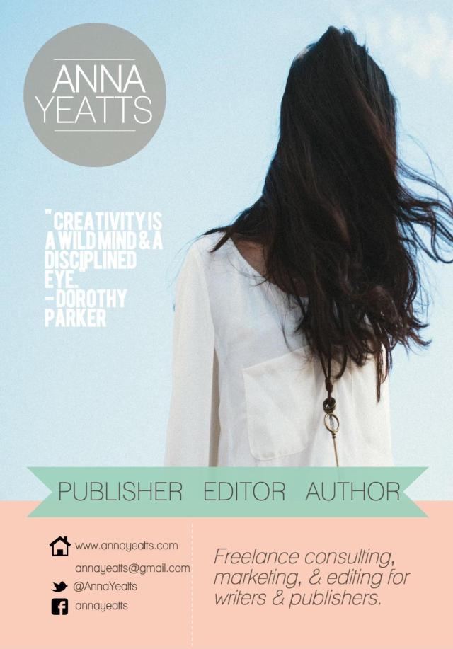 Anna Yeatts Publisher Editor and Author