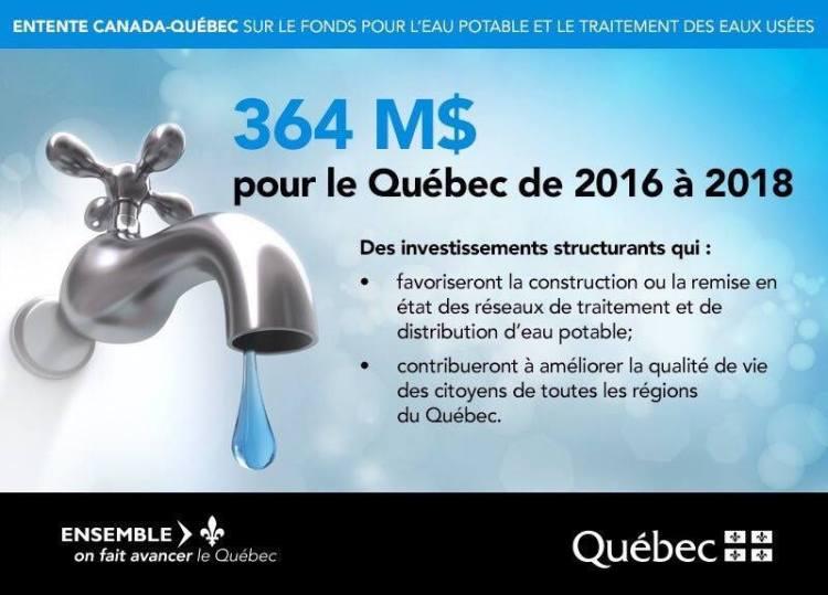 Annonce sur la page Facebook du ministre Laurent Lessard, 5 juillet 2016