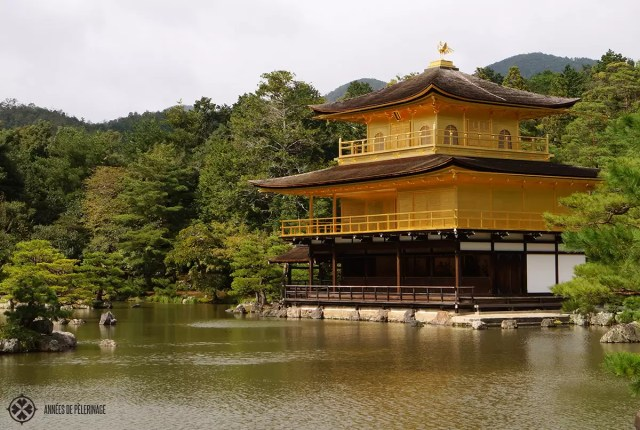 kinkakuji golden temple koyoto japan