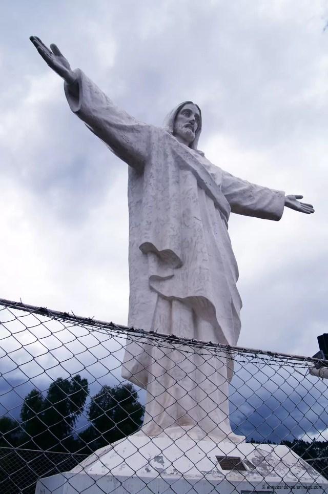 Cristo Blanco Cusco Peru