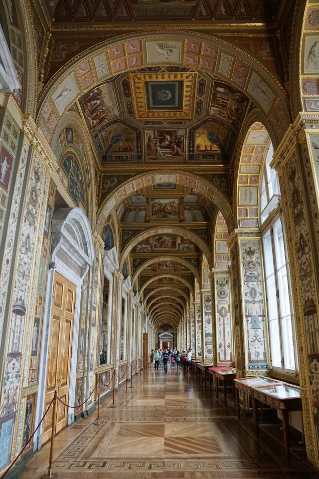 Raphael Loggias in the Hermtiage Museum in St. Petersburg, Russia