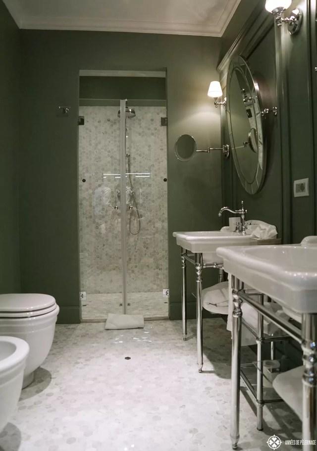 bathroom palazzo dama luxuy hotel rome