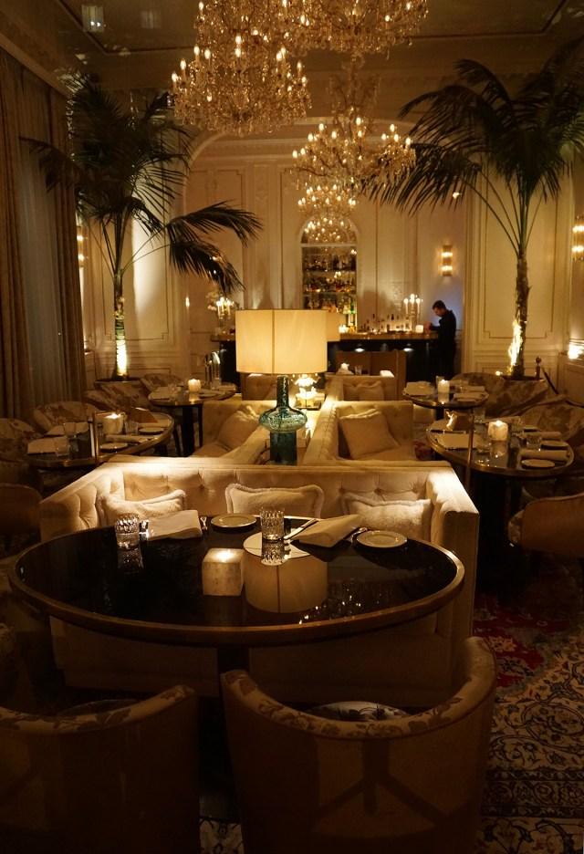 restaurant palazzo dama luxury hotel rome