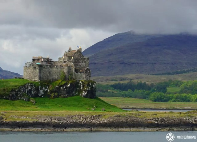 Duart Castle Scotland on the Isle of Mull in Scotland