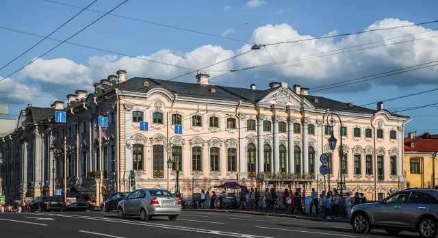 The Moika Palace in St. Petersburg Russia, where Rasputin was murdered
