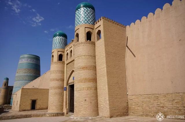 The Pakhlavan Mahmud Complex khiva uzbekistan