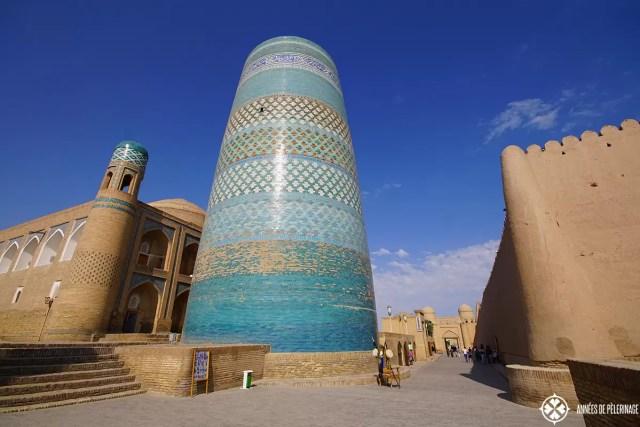 The Kalta-Minor Minaret in Khiva, Uzbekistan