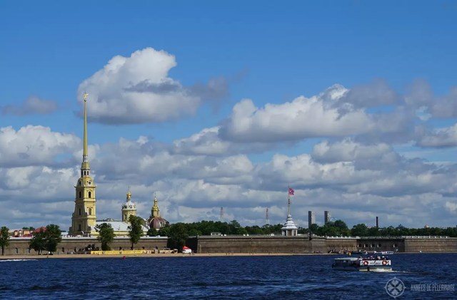 The Peter and Paul Fortress in St. Petersburg, Russia