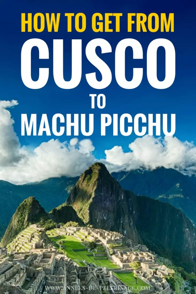 How to get from Cuscto to Machu Picchu by train, bus or on foot. This your ultimate travel guide for the best ways into the famous Inca ruins in Peru. Hiram Bingham or Inca trail - you decide. Click for more information.