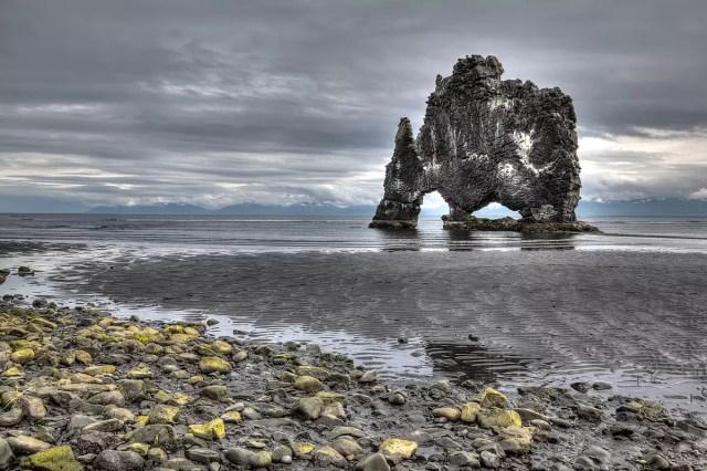 Hvítserkur rock in iceland