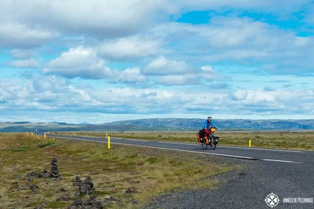 Taking a bike from reykjavik to akureyri iceland