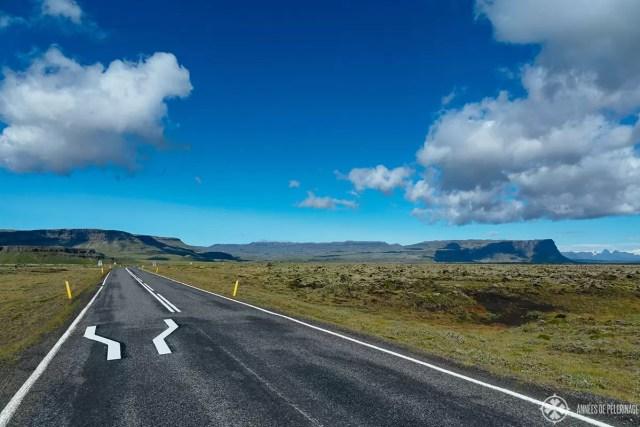 Ring road from reykjavik to akureyri iceland
