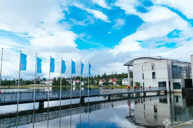 The central tourist information in Reykjavik