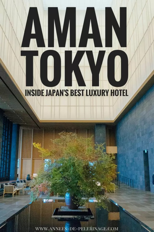A review of the Aman Tokyo luxury hotel. Some say the best hotel in Tokyo, but certainly among the best hotels in the world. Click to read the ful review of food, spa, rooms and tons of pictures.