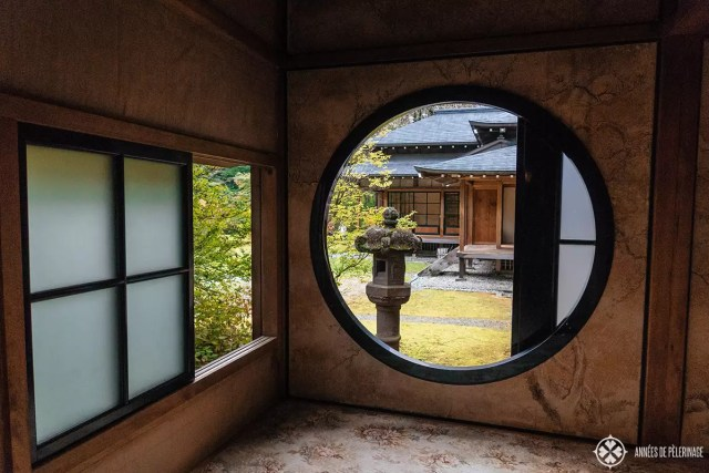 Inside the Tomozawa Imperial Villa in Nikko