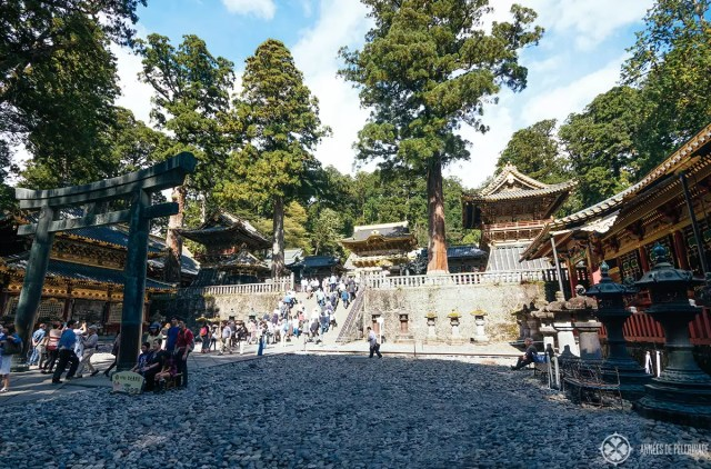The grounds of the Toshogu Shrine in Nikko, Japan - a UNESCO World Heritage site