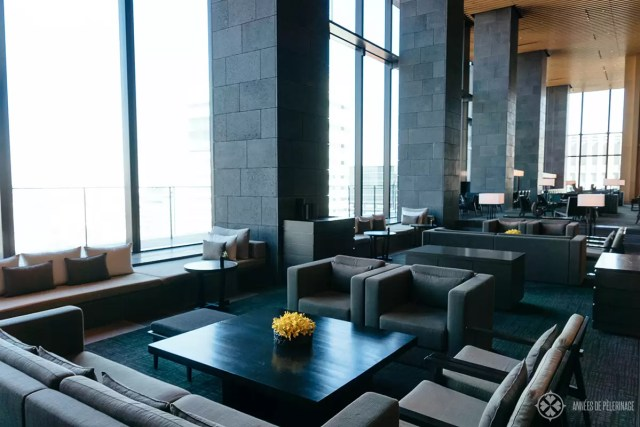 The bar of the Aman tokyo