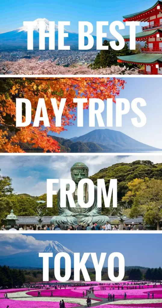 The best day trips from Tokyo. Learn all the famous tourist attractions you can explore on a day tour from Tokyo. Especially if you got a JR Rail Pass Tokyo day trips are cheap and easy.
