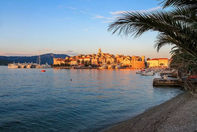 The tiny Island of Korčula - one of the many beautiful things to do in Croatia