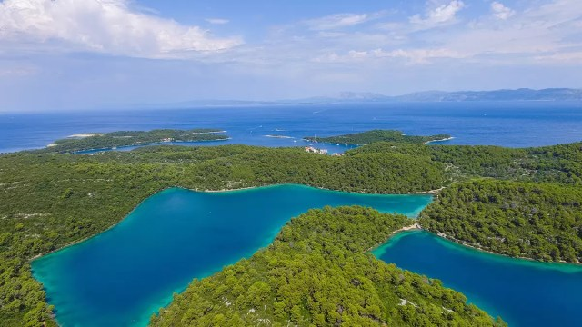 The coastal national parks in Croatia - the most beautiful part of Croatia